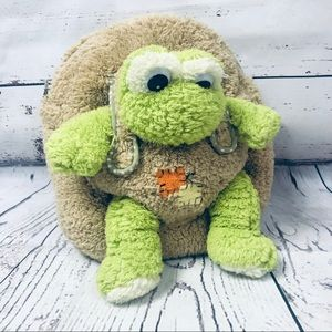 Kreative Kids Plush Backpack with Removable Frog